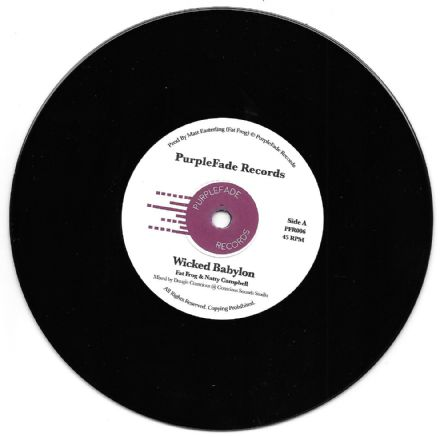 Fat Frog & Natty Campbell - Wicked Babylon / Wicked Dub (Purple Fade) 7""